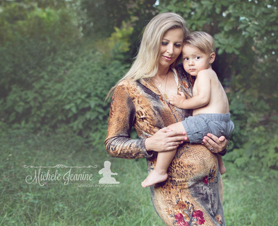 Toddler with Mom Hilton Head | Michele Jeanine Photography
