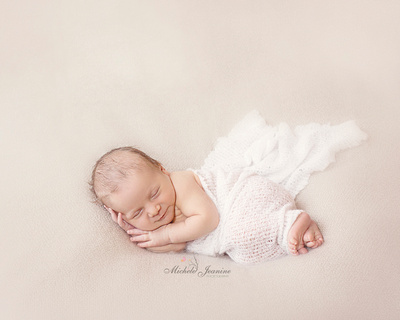 Newborn Baby Portrait Sessions by Michele Jeanine Photography in MD DC VA